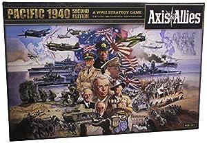 Avalon Hill / Wizards of the Coast A0626 - Juego de Mesa Axis & Allies: Pacific 1940 2nd Edition (Instrucciones en inglés)