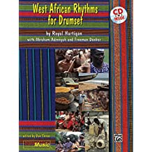 West African Rhythms for Drumset: Book & CD (Manhattan Music Publications)