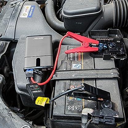 61pWJCP%2BxOL. SS416  - Multi-Functional 300A Peak Current Car Jump Starter in Black