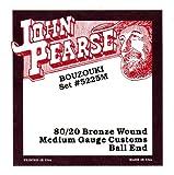 John Pearse 5225M Jeu de cordes de Bouzouki irlandais Naturel