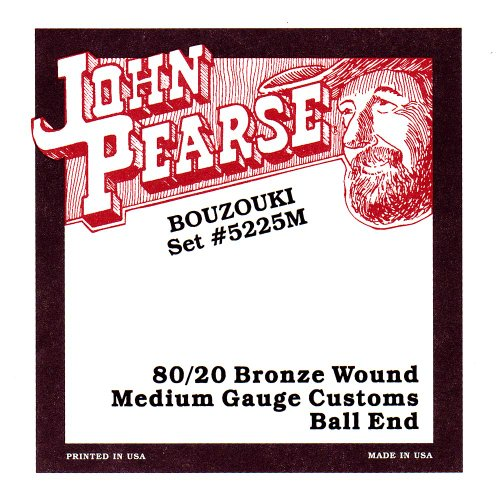 John Pearse 5225M Irish Bouzouki Saiten Medium