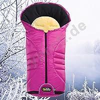 Odenwälder 12330-325 saco de abrigo impermeable con piel de borrego para diseño de oso
