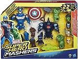 Marvel Super Hero Mashers Ultimate Avengers Set