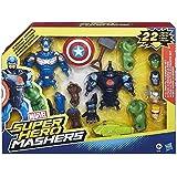 Marvel – Super Hero Mashers – Pack Avengers Utilme – Figurine à Assembler + Accessoires