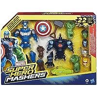 Marvel Super Hero Mashers - Juego de figura de acción, 22 piezas (Hasbro B1431)
