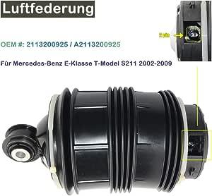 4 Corner Hinten Ads Luftfeder 2pins Für S211 W211 2113200925 A2113200925 2113200925 Auto