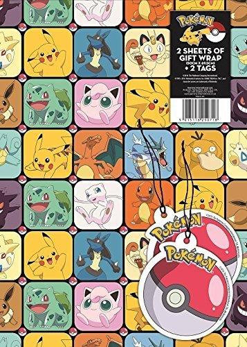 Image of Pokemon Gift Wrap