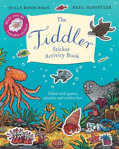Tiddler Sticker Activity Book por Julia Donaldson