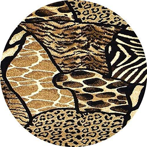 Red Zebra Cover (Animal Print Zebra Tiger Giraffe Leopard Brown Custom Round Non Slip Rubber Mouse pad D'S 2016 250mm*300mm)
