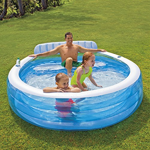 Preisvergleich Produktbild INTEX Swimm Center Family Lounge Pool, 224x76 cm Planschbecken Schwimmbecken Pool Kinderbecken