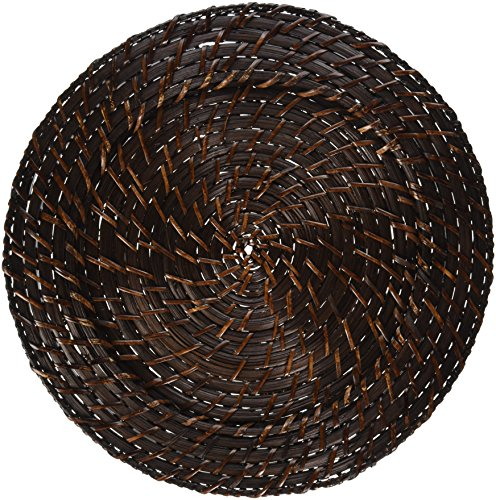 Platzteller, Rattan, 33 cm, 4 Stück