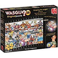 Wasgij 19156 Original 28 - Dropping the Weight 1000 Piece Jigsaw Puzzle