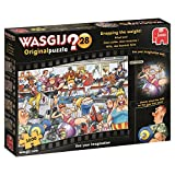 Jumbo 19156 - Wasgij Original 28-Dropping The Weight 1000 Teile Puzzle