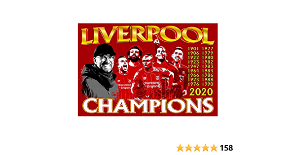 PARTISAN Liverpool Champions Of England 2019//2020 Car Flag Pair