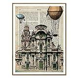 Nacnic Folie Stadt Murcia. Vintage. Illustration, Foto und