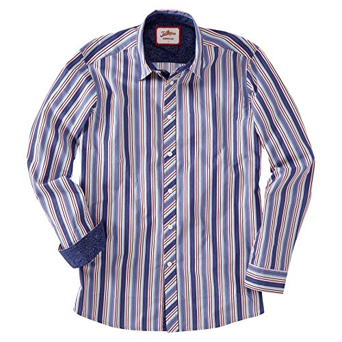 Joe Browns Party Stripe, Chemise Casual Homme Multicolore - Multicoloured (A-Multi)
