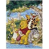Buffalo Games Disney Photomosaic Winnie the Pooh and Friends 1026 Piece Jigsaw Puzzle by Buffalo Games