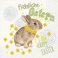 "Serviette ""Funny Easter"" Papierserviette Motivserviette Ostern Serviettentechnik décopatch"