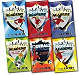 Football Academy 6 Books Set Tom Palmer collection NEW Free Kick, striking out