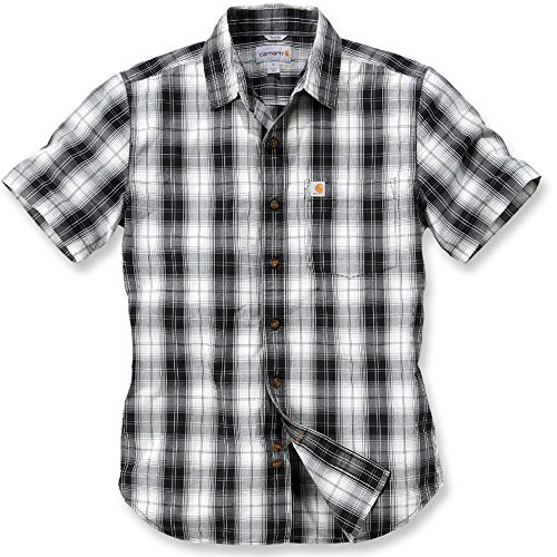 Carhartt Slim Fit Plaid Shirt S/S - Freizeithemd