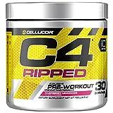 Cellucor C4 Ripped - Poudre pré-entraînement/brûleur de graisse - goût limonade à la framboise - 30 portions