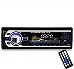 Fansport Car Stereo Audio Radio Player in Dash Single DIN FM MP3 Car Stereo Receiver