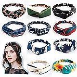 LZHOO 10 Stück Damen Stirnband Kopfband Stirnbänder Haarspange Haarband Headband