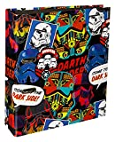 Undercover SWTP0630 - Schulordner Star Wars Patch A4, 32 x 24 x 8 cm