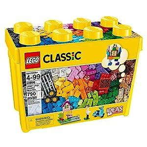 LEGO Classic Scatola di Mattoni creativi Grande–Gioco di Costruzioni, Multicolore, 4Anno (S), 790Pezzo (S), Ragazzo/Ragazza, 99Anno (S), 6cm 5054242252975 LEGO