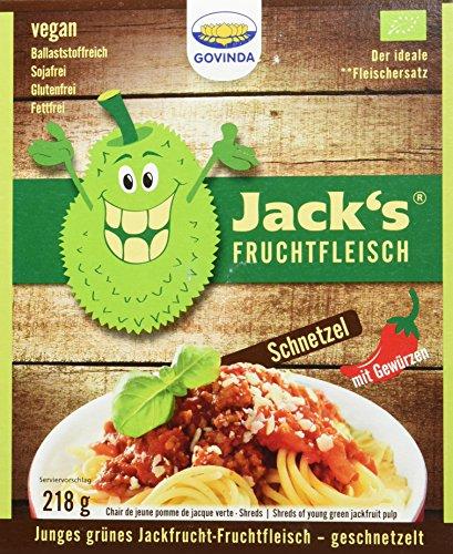 Govinda Jackfrucht-Fruchtfleisch geschnetzelt, 3er Pack (3 x 205 g)