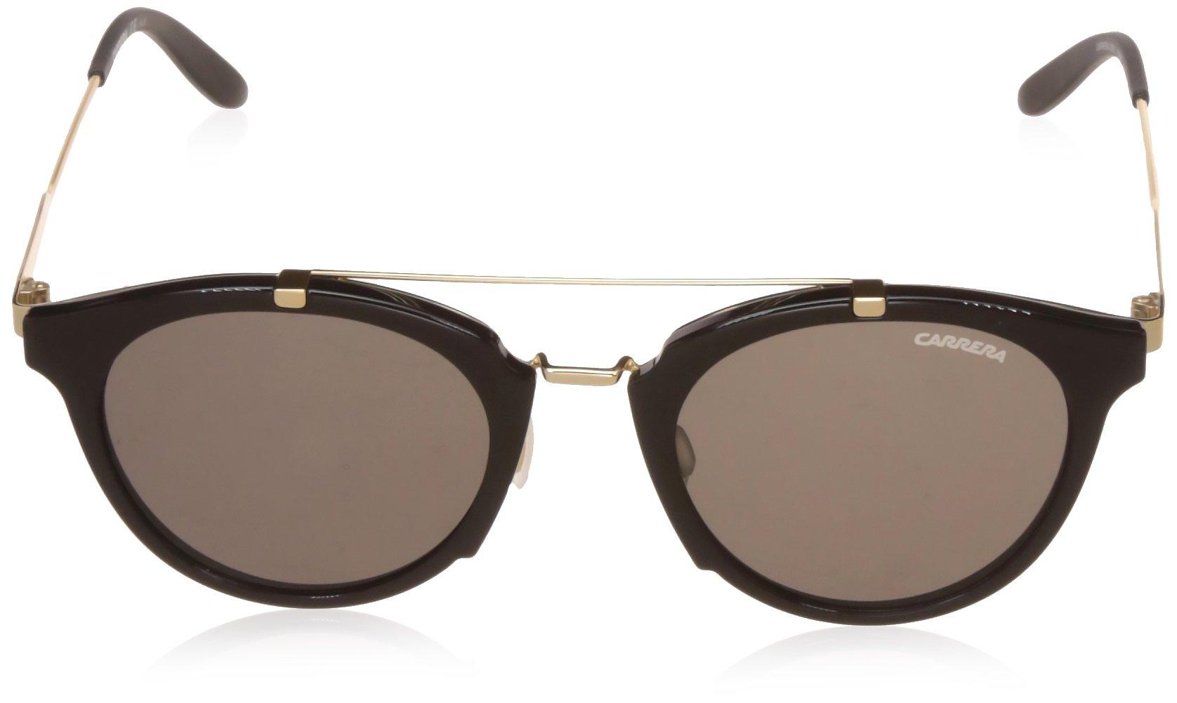 Carrera 126/S NR 6UB Gafas de sol, Negro (Shn Black Gd/Brw Grey), 49 Unisex-Adulto