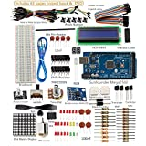 SunFounder Project Super Starter Kit with Tutorial Book for Arduino UNO R3 Mega2560 Mega328 Nano (with MEGA 2560) - Including 73 Page Instructions Book