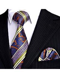 Xzlp99pour homme Robe Business Casual Cravate d'une Cravate Serviettes de table Emballé Mariage Sherman.