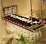 A-Fort Rack Holder Weinglasregal, Regal Weinglashalter, Weinglasregal, Weinglasregal, Champagnerglasregal, Glasregal (Farbe : A, größe : L60*w30cm)