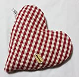Cuscino CUORE coolpack noccioli di ciliegia riscaldabile in forno o microonde