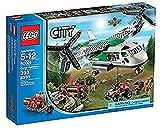 LEGO City - 60021 - Jeu de Construction - L'avion Cargo