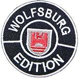 VW Volkswagen Wolfsburg Edition Racing Auto-Jacke-Shirt Patch Sew Iron on Logo gesticktes Badge Schild Emblem Kostüm