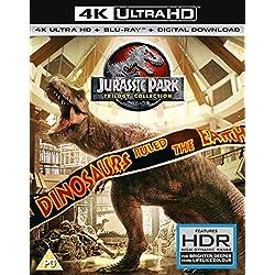 Jurassic Park Trilogy - (4K Uhd) (6 Blu-Ray) [Edizione: Regno Unito] [Italia] [Blu-ray]