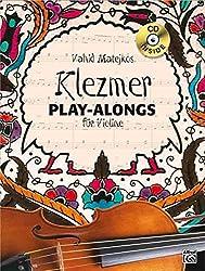 Vahid Matejkos Klezmer Play-alongs für Violine (Buch/CD)