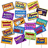 #9: Party Propz® Baby Shower Photo Booth Set of 18 Pieces for Baby Shower Party Decoration