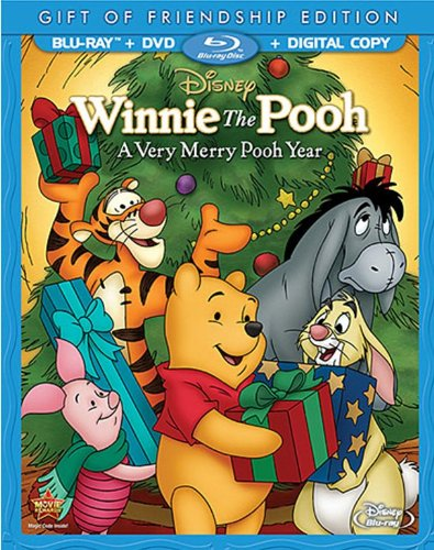 Winnie the Pooh: A Very Merry Pooh Year [inglés] [Blu-ray]