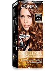 L'Oreal Paris Excellence Fashion Highlights Hair Color, Caramel Brown, (29ml+16g)