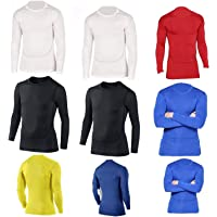 PROSTYLE SPORTS Compression Armour Baselayer Top Thermal Skins Shirt