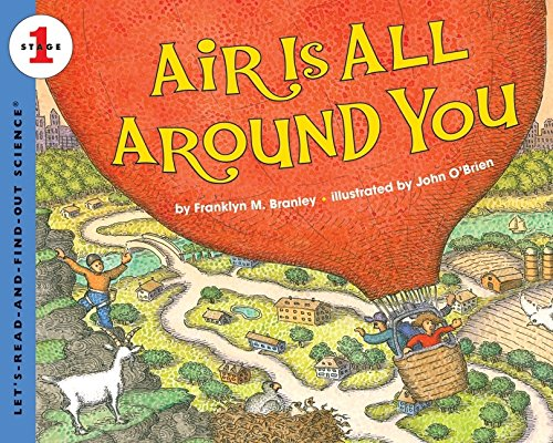 Air Is All Around You (Let's Read And Find Out Science)