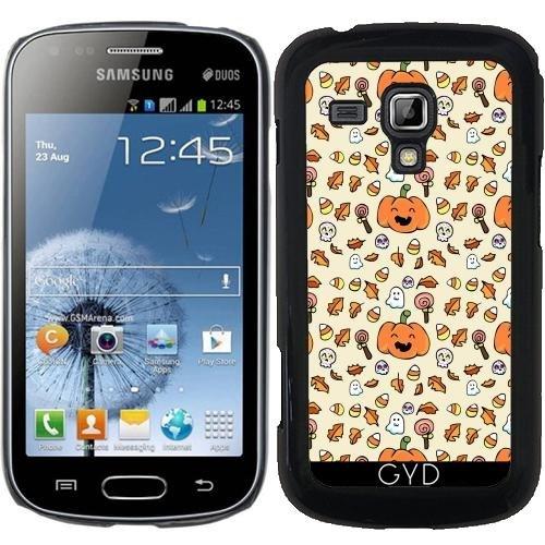 Hülle für Samsung Galaxy S Duos S7562 - Halloween Kritzelt Lustige Gesichter by AnishaCreations