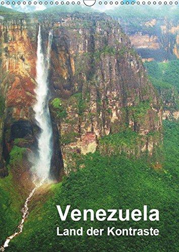 Venezuela - Land der Kontraste (Wandkalender 2019 DIN A3 hoch): Uralte Tafelberge der Gran Sabana, faszinierende Tierwelt der Llanos, Bergwelt der ... Strand (Planer, 14 Seiten ) (CALVENDO Natur)