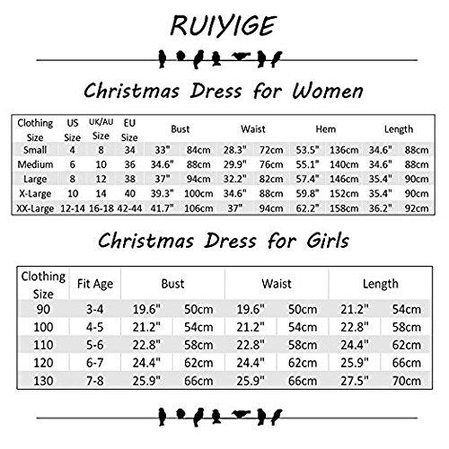 Vestito da stampa mini vestito dalla ragazza di Ruiyige della ragazza delle donne vestito da swing Nero