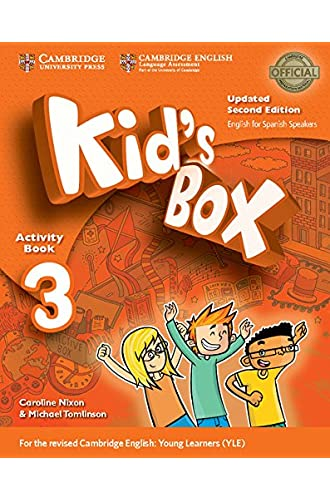 Kid's Box Level 3 Activity Book with CD ROM and My Home Booklet Updated English for Spanish Speakers Second Edition