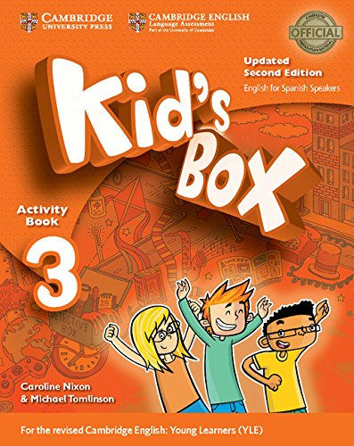 Kid's Box Level 3 Activity Book with CD ROM and My Home Booklet Updated English for Spanish Speakers Second Edition - 9788490369326 por Caroline Nixon