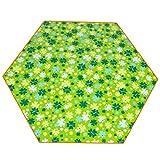 Couvertures de pique-nique Tapis de ressac étanche à l'humidité Tapis de pique-nique Pelouse Camping Tissu extérieur Portable Hexagon Trèfle ( taille : 220*220cm )